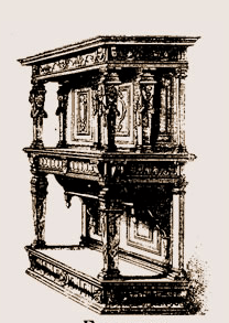 Buffet-Renaissance-appelé-Crédence-sous-Henri-III Les différents styles de meubles par époques