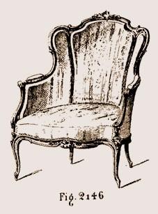 Cabriolet-Louis-XV Les différents styles de meubles par époques
