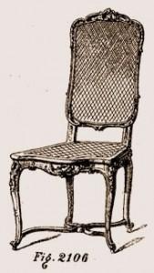 Chaise-Louis-XIV-169x300 Les différents styles de meubles par époques