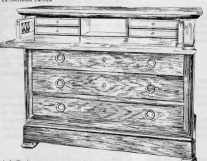 Commode-Bureau-Louis-Philippe-300x234 Les différents styles de meubles par époques