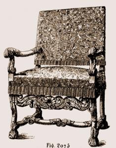 Fauteuil-Louis-XIII-235x300 Les différents styles de meubles par époques