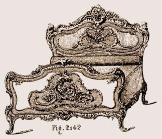 Lit-Louis-XV Les différents styles de meubles par époques