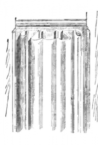 Panneau-à-serviette-ou-parchemin-203x300 Les différents styles de meubles par époques
