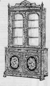 Vitrine-Napoléon-III-174x300 Les différents styles de meubles par époques