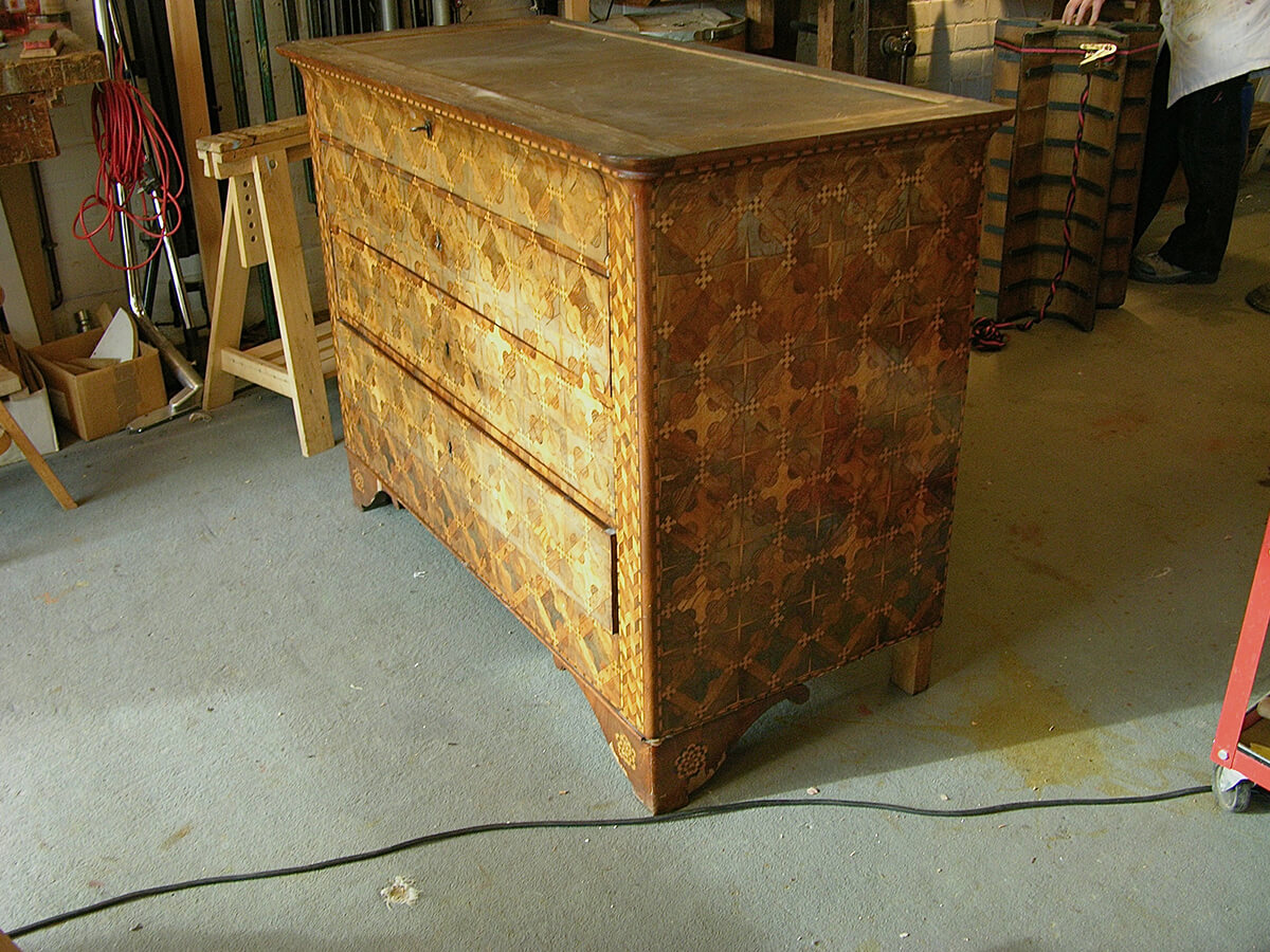 Commode-Restauration