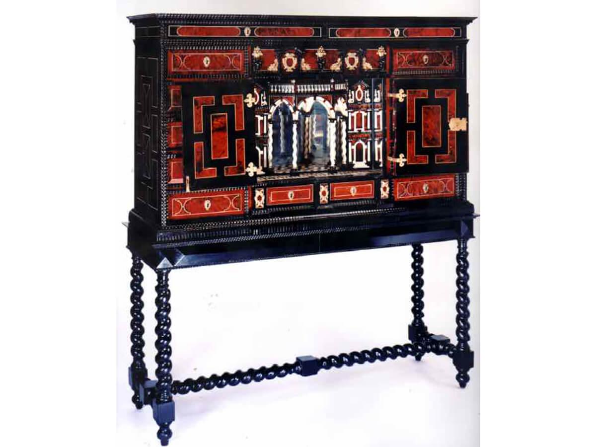cabinet-Renaissance-XVII-flamand-d'inspiration-italienne