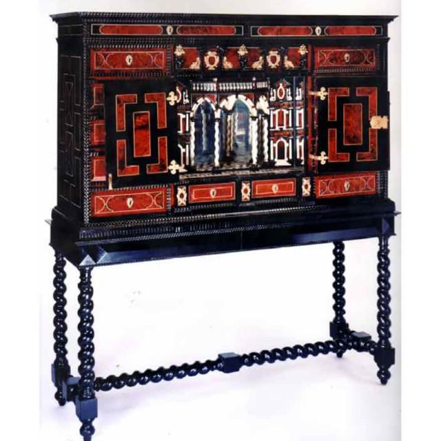 cabinet-Renaissance-XVII-flamand-dinspiration-italienne-640x640 Atelier Patrice Bricout