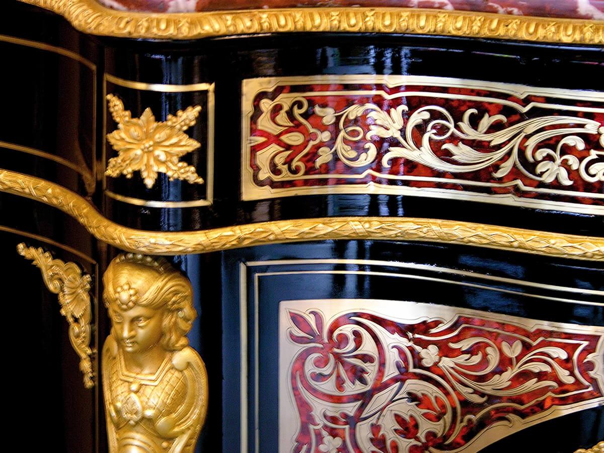 meuble dappui napolon iii aprs restauration