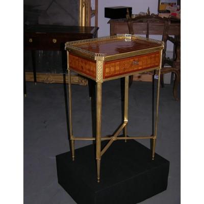 Table Louis XVI estampille de C.C.Saunier