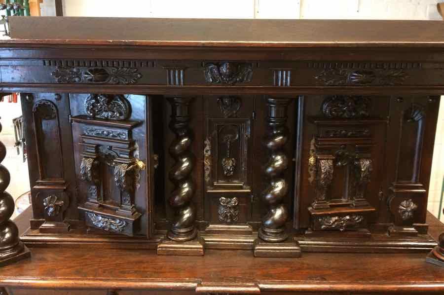 buffet-Renaissance-1 Buffet Renaissance début XVIIe en chêne