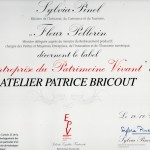 Label EPV 2012 | Atelier Patrice Bricout