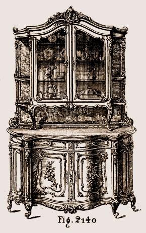 Buffet-Louis-XV Les différents styles de meubles par époques