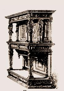 Buffet Renaissance appelé Crédence sous Henri III | Atelier Patrice Bricout