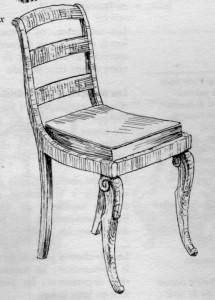 Chaise à barreaux Louis Philippe | Atelier Patrice Bricout