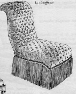 Chauffeuse-Restauration-244x300 Les différents styles de meubles par époques
