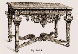 Console Louis XIV | Atelier Patrice Bricout