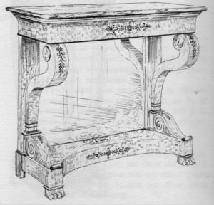 Console-Restauration-300x288 Les différents styles de meubles par époques