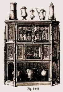 Crédence Louis XII | Atelier Patrice Bricout