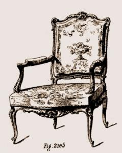 Fauteuil Louis XIV | Atelier Patrice Bricout
