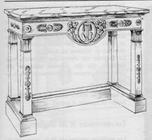 Guéridon-Empire-300x275 Les différents styles de meubles par époques