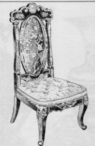 chauffeuse Napoléon III | Atelier Patrice Bricout