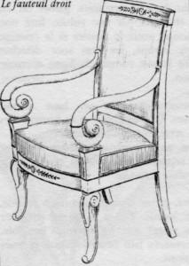 fauteuil Restauration | Atelier Patrice Bricout