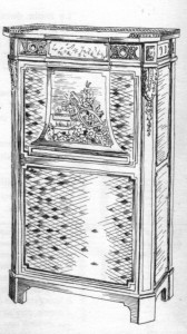 secrétaire à abattant Louis XVI | Atelier Patrice Bricout