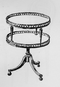valet-muet-Louis-XVI-206x300 Les différents styles de meubles par époques