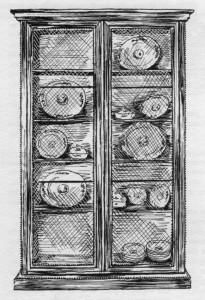 vitrine Louis XVI | Atelier Patrice Bricout