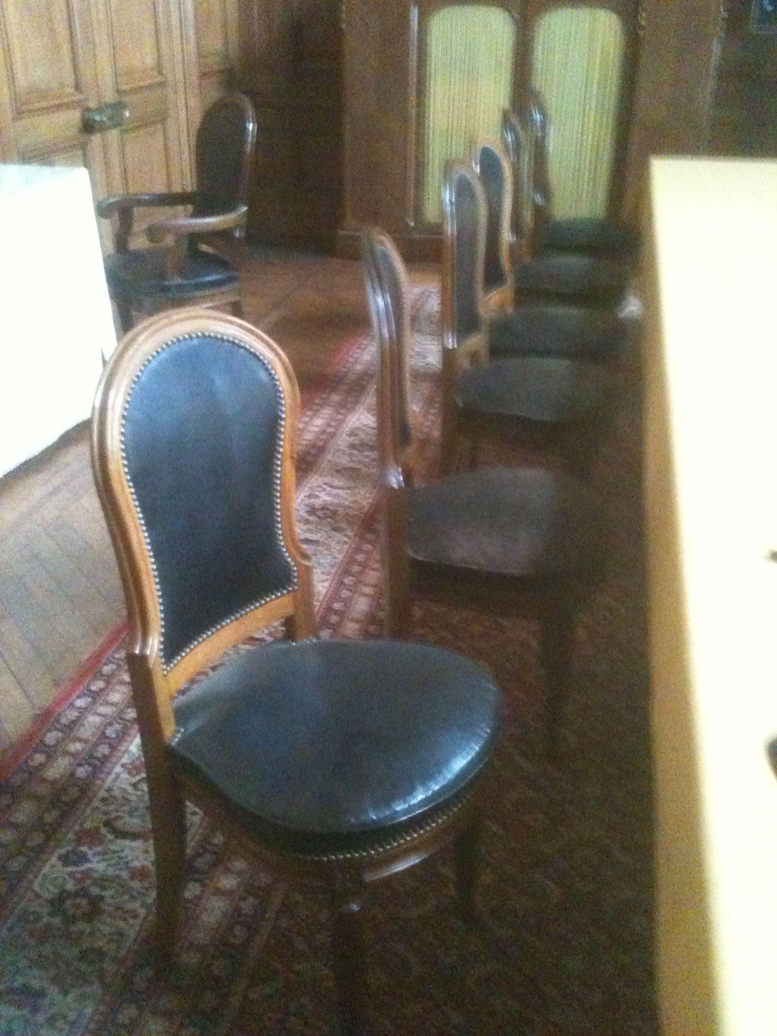 chaise néo-classique fin XVIIIe - début XIXe