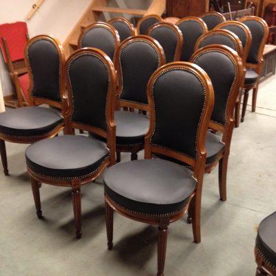 chaise néo-classique fin XVIIIe – début XIXe