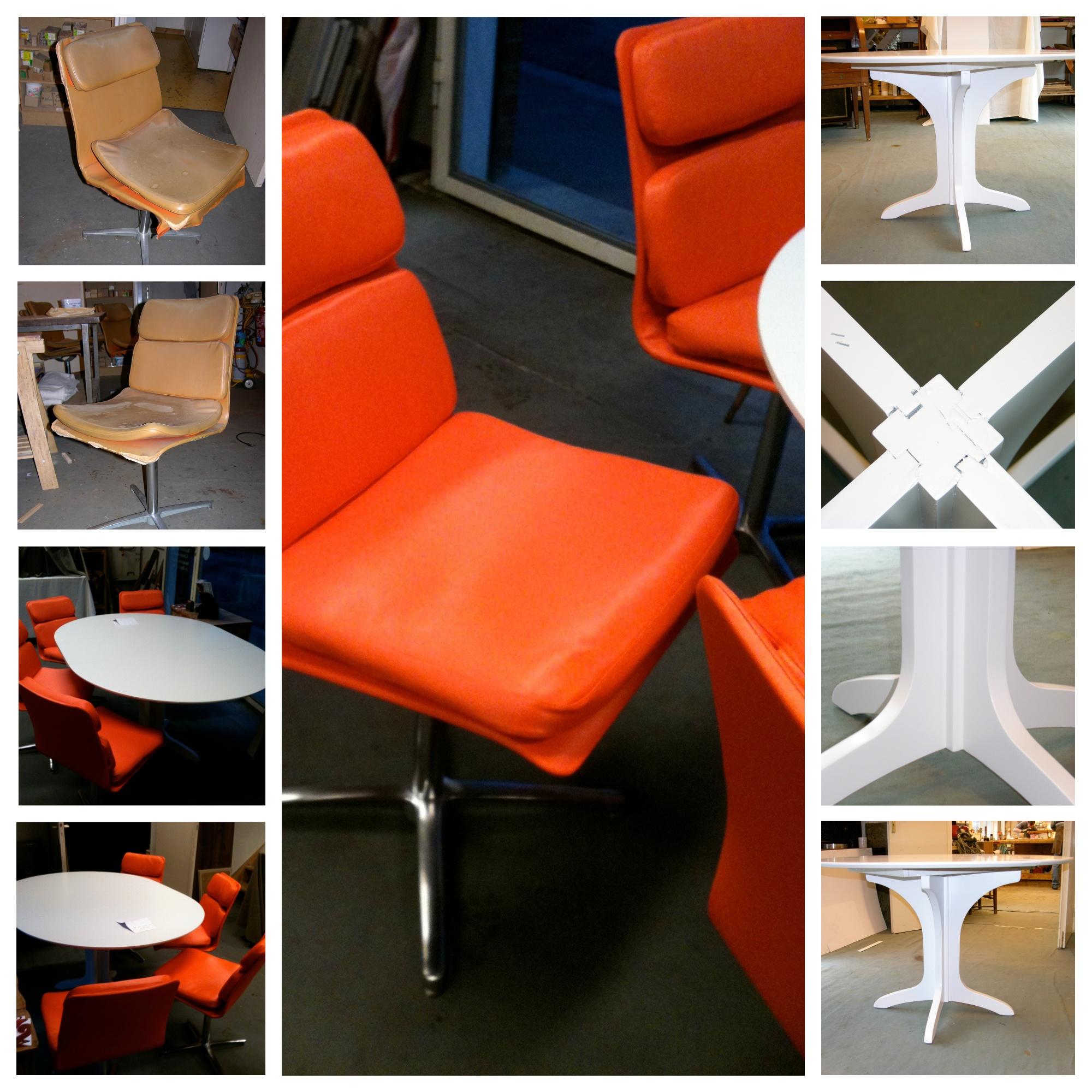 sièges Roche Bobois recouverts de cuir