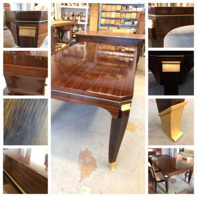 table art déco palissandre de Rio