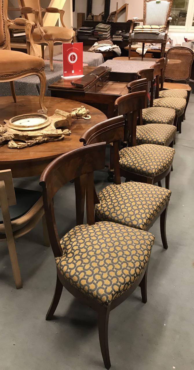 chaise Restauration en acajou 3Atelier Patrice Bricout EPV Marcq en Baroeul | Atelier Patrice Bricout