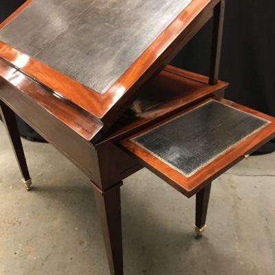 """Table d'Architecte dite """"à la Tronchin"""" Louis XVI"""