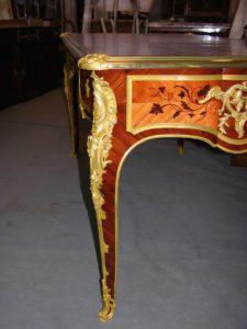 bureau Transition Louis XV Louis XVI restauration atelier Patrice Bricout Label EPV Marcq en Baroeul