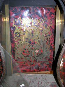 cartel Napoléon III mouvement signé Lenoir à Paris avant restauration Atelier Patrice Bricout Label EPV