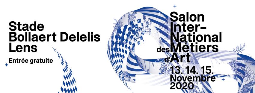 Le Salon International des Métiers d'art de Lens se tient pour sa 6ème édition du 13 au 15 novembre prochain au Stade BOLLAERT DELELIS de LENS