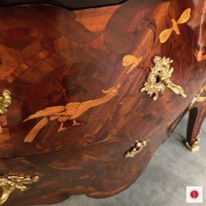 Commode Sauteuse Louis XV atelier Patrice Bricout5 | Atelier Patrice Bricout