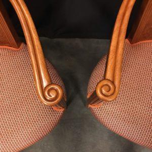 fauteuils Art Déco restauration Atelier Patrice Bricout Label EPV